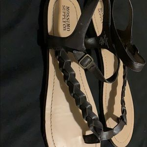 Mossimo Supply Co. Shoes - Brown braid sandals